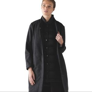Lululemon All Days Soft Shell Wool Coat Size 8 ( SOFT SHELL ONLY)